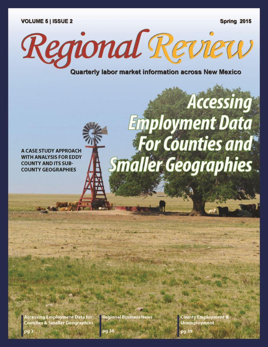 Regional Review Spring 2015